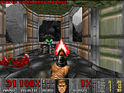 Doom I :: The original shareware Doom - Knee Deep In The Dead ported to flash.
